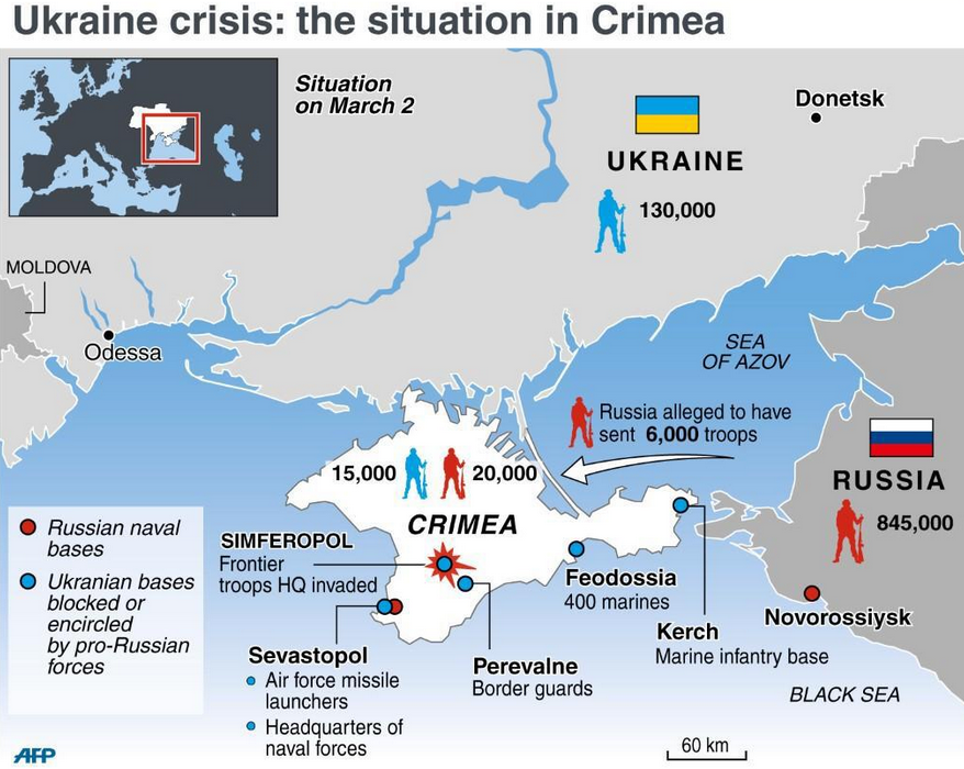 Ukraine crisis - situation in Crimea