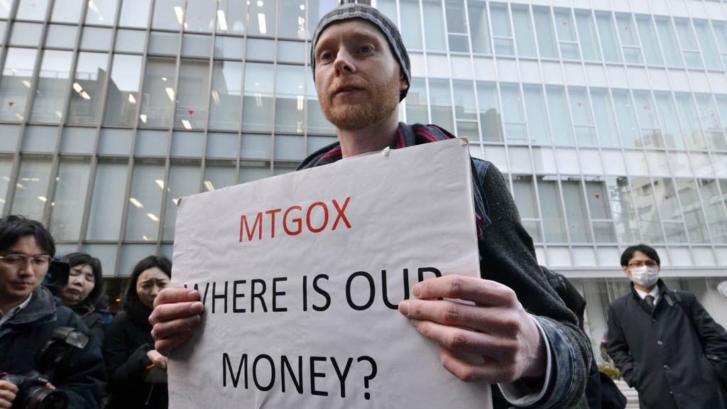 mtgox protester