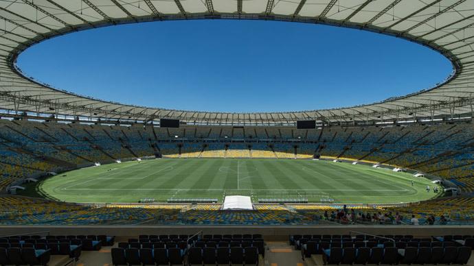 General view of Mario Filho Maracana stadium in Rio de Janeiro, Brazil