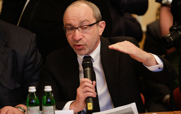 Gennady Kernes, the mayor of Ukraine's second-biggest city