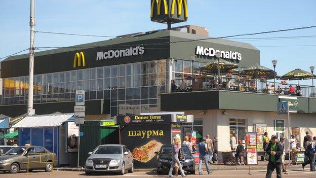 McDonalds temporarily closes Crimea restaurants