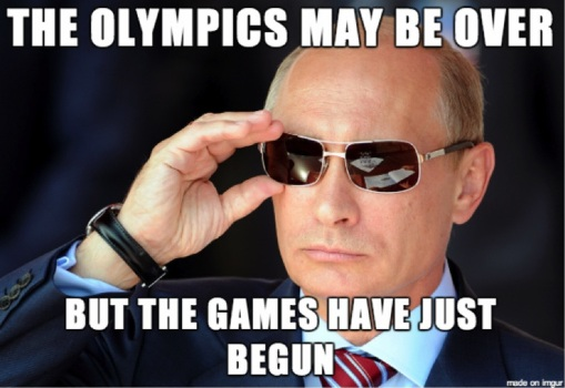 The Olympics May Be Over But The Games Have Just Begun