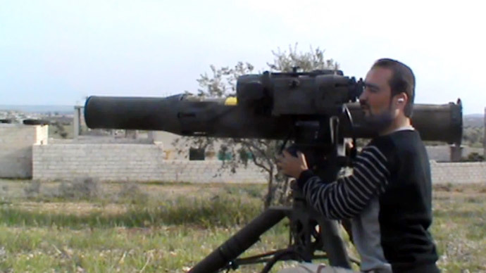 US reportedly starts supplying Syrian rebels with anti-tank weapons-2