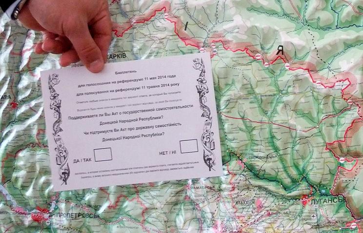 Donetsk ballot