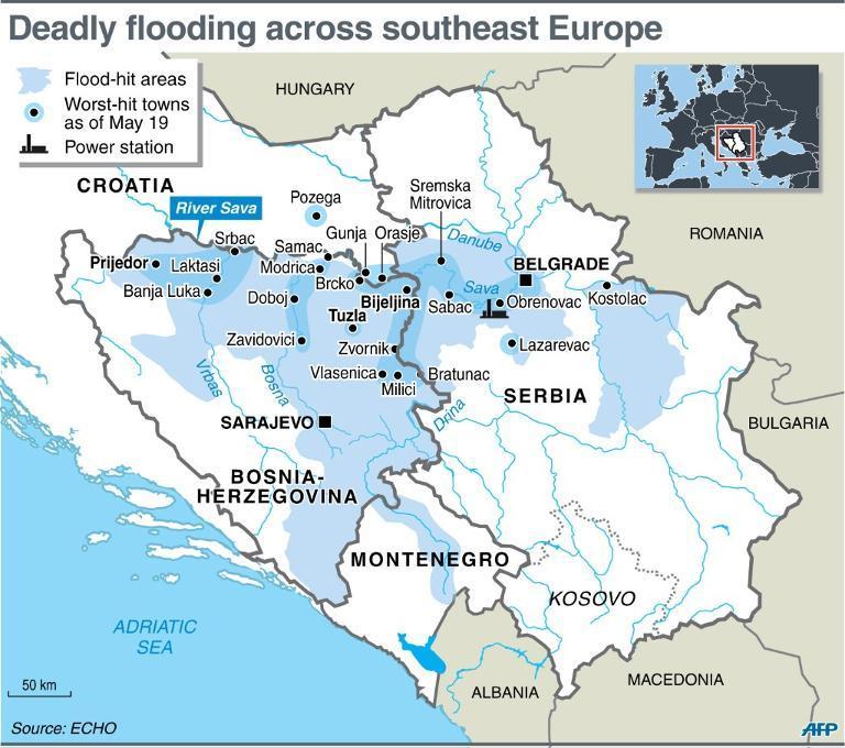balkan flood