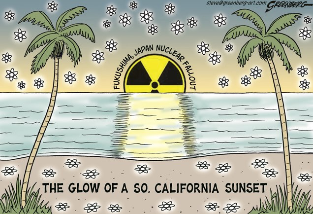 California-Fukushima-Sunset