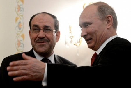 Putin Maliki