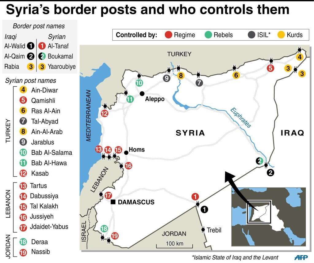 syria border posts