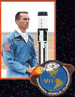 Astronaut Walter Cunningham in the Apollo era