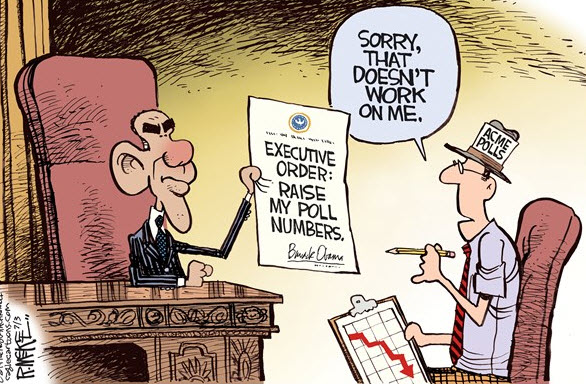 Executive Order - Raise My Poll Numbers