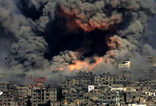 Gaza boom