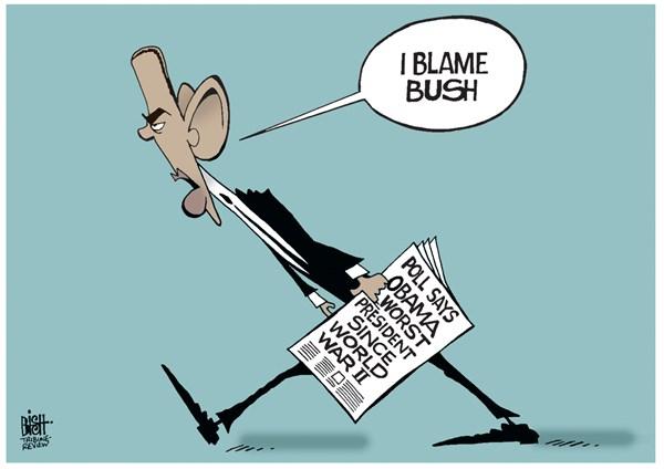 I blame Bush