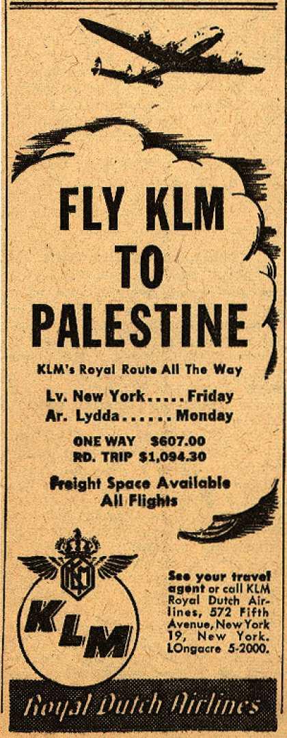KLM-Palestine