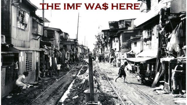 THE IMF WAS HERE