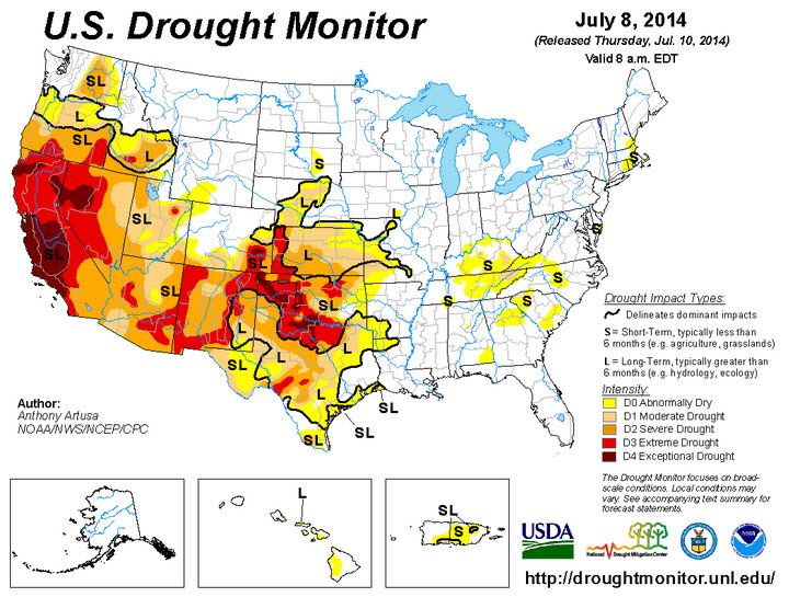 US-drought-monitor