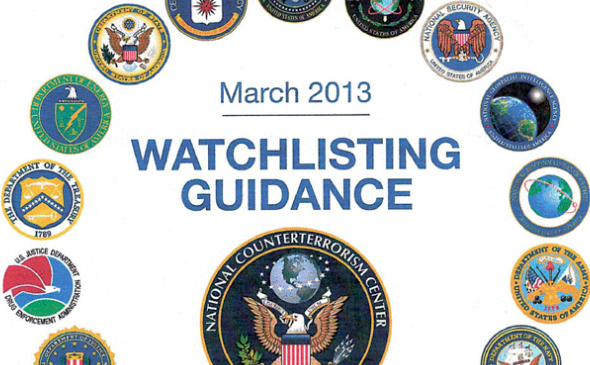 Watchlisting Guidance - Rulebook