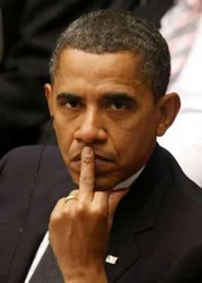 obama-middle-finger