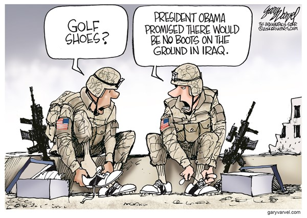 no boots on the ground