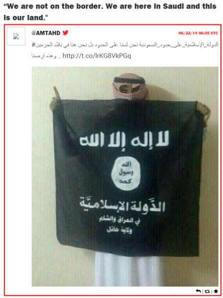 ISIS-Saudi