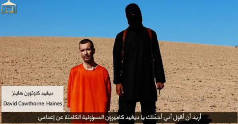 ISLAMIC STATE RELEASES VIDEO SHOWING BEHEADING OF DAVID HAINES