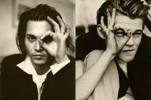 Johnny Depp and Leonardo DiCaprio