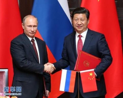 Putin Xi Sept 2014