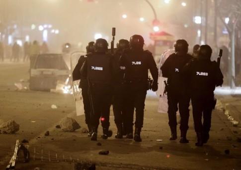 Spain-Militarizing