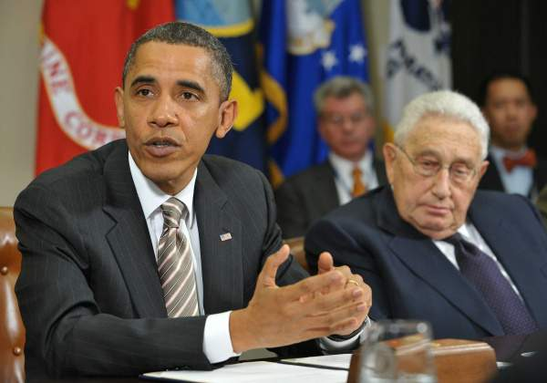 kissinger obama
