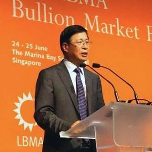 Chairman of the Shanghai Gold Exchange (SGE) Xu Luode