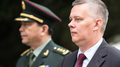 Polands Defence Minister Tomasz Siemoniak