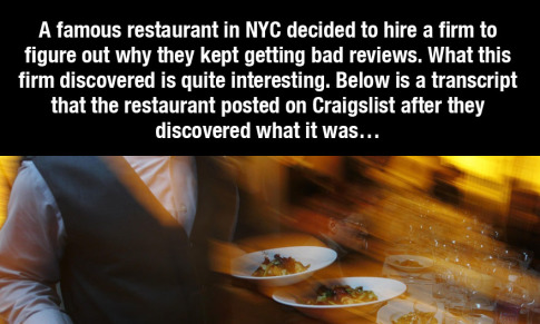 Why Do New York Restaurants Suck1