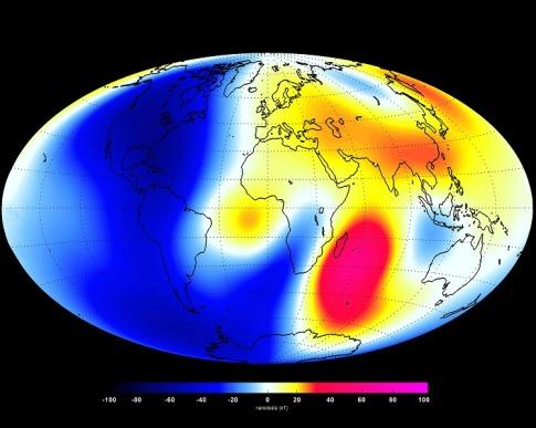 earth-magnetic-field-Credit_ESA-DTU