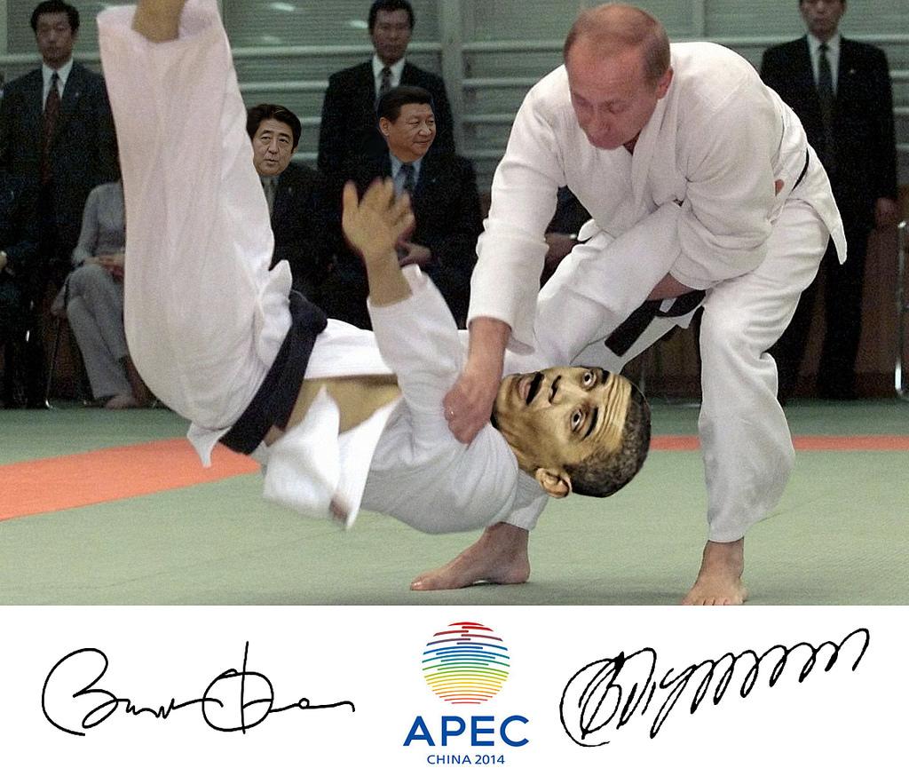 APEC China Obama Putin
