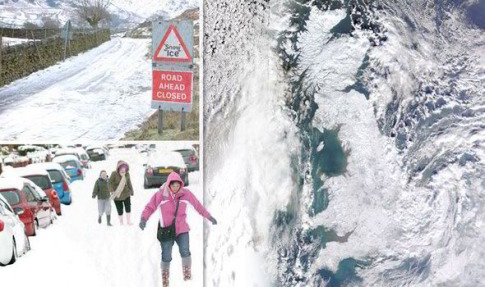 Britain is facing one of the coldest winters on record