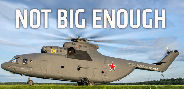China And Russia Team Up To Build Worlds Largest, Most Powerful Chopper