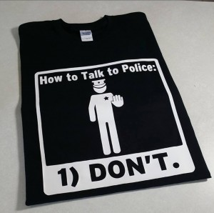 How to talk to the police
