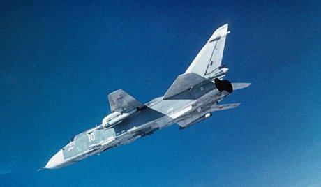 Russian Sukhoi Su -24