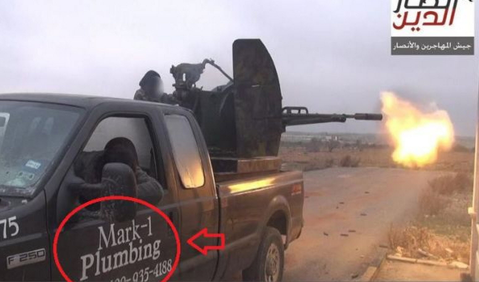 From Average Joe To Average Jihadi - How A Texas Plumbers Truck Turned Up In Syria