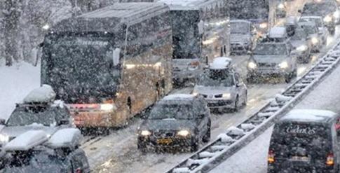 Greece-Snow