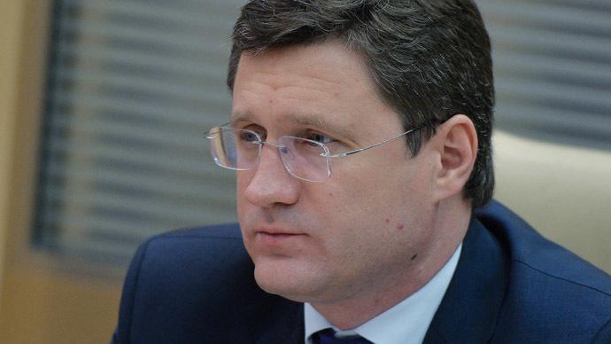 Russia Energy Minister Alexander Novak