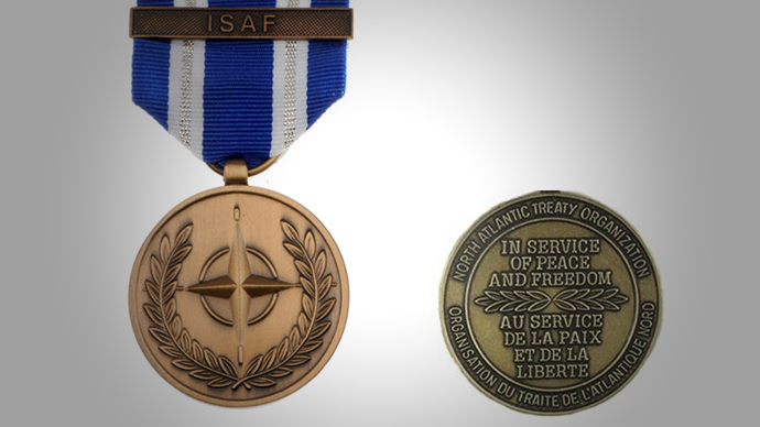 The NATO ISAF medal