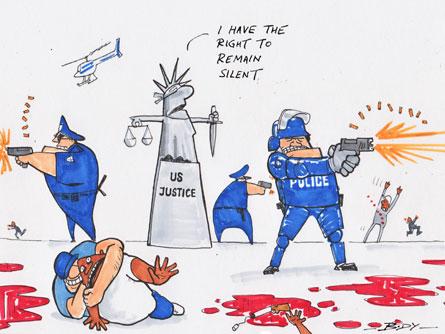 US justice no choking matter
