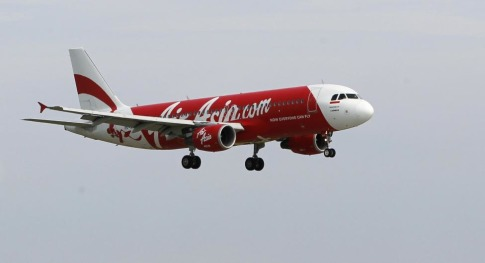 File photo shows an Indonesia AirAsia Airbus A320-200 passenger prepareing to land at Sukarno-Hatta airport in Tangerang