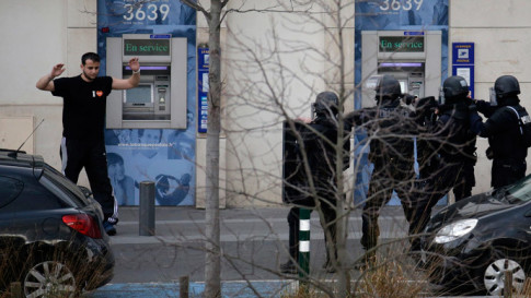 Gunman armed with Kalashnikov takes hostages at post office near Paris