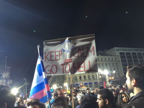 Message From Greece To Troika