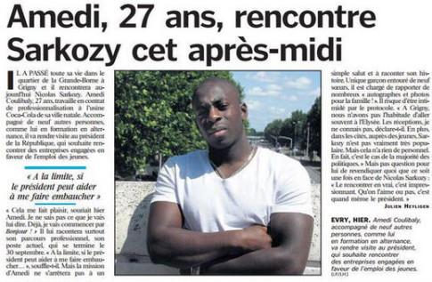 Nicolas Sarkozy-Amedi Coulibaly