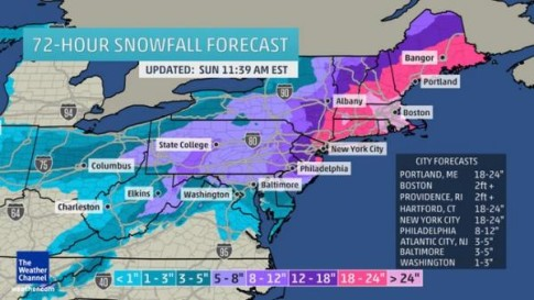 blizzard snowfall forecast_0