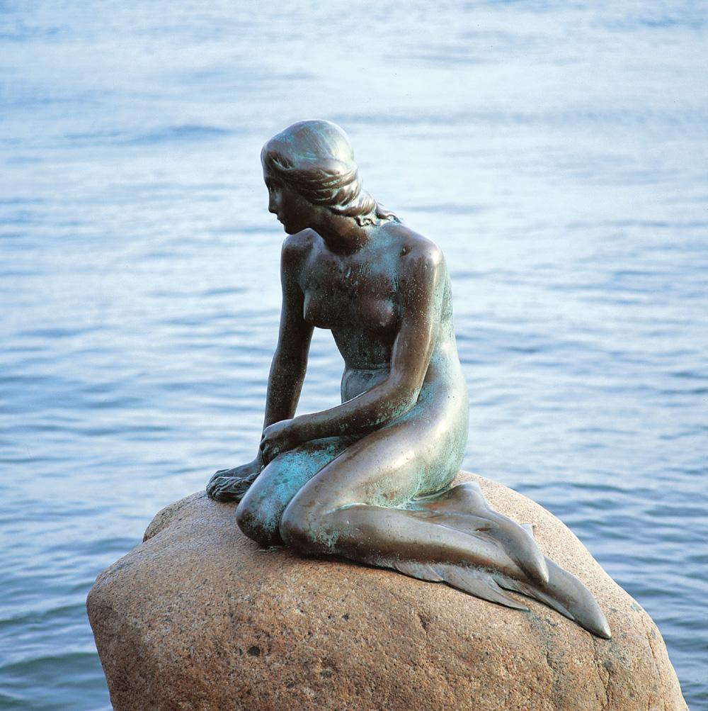 Den lille Havfrue, Langelinie