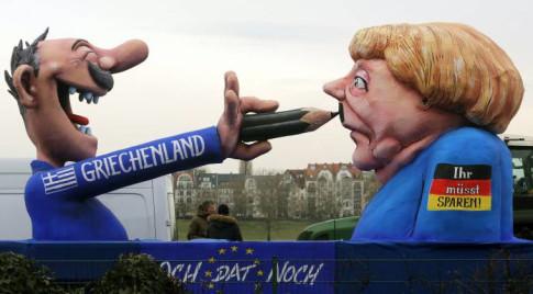 Greece-Merkel