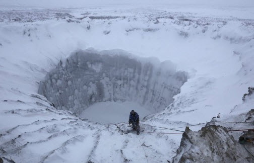 More Giant Craters Appear In Siberia, Scientists Nervous To Investigate